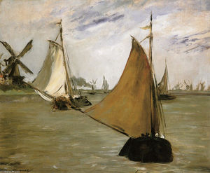 Edouard Manet - vista de holland