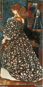Edward Coley Burne-Jones - Sidonia Von Bork