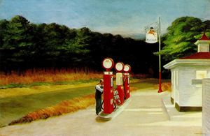 Edward Hopper - gás