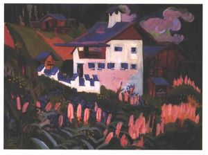 Ernst Ludwig Kirchner - Casa nas Meadows