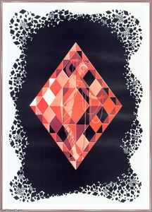 Erté (Romain De Tirtoff) - Ace Of Diamonds