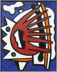 Fernand Leger - Composition for a Mural