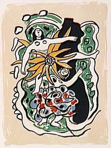 Fernand Leger - -The album --Circus--- ( 25 )
