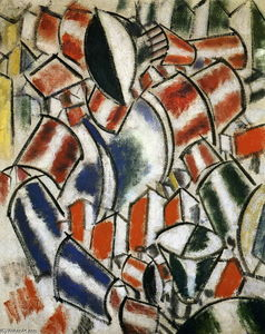 Fernand Leger - A Mulher Sitted