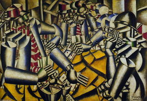 Fernand Leger - A parte do Chart