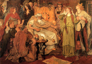 Ford Madox Brown - Parcela de Cordelia