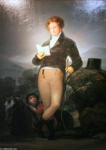 Francisco De Goya - Retrato de Don Francisco de Borja Tellez Giron