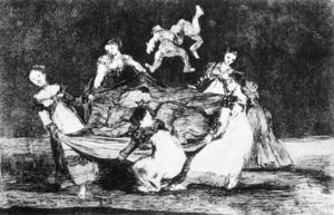 Francisco De Goya - Folly feminino