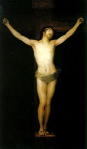 Francisco De Goya - Crucificado cristo