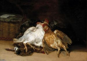 Francisco De Goya - morto aves