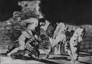 Francisco De Goya - Disparate furioso