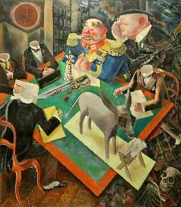 George Grosz - O eclipse dos  o  sol