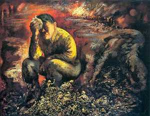 George Grosz - Cain ou Hitler no Inferno