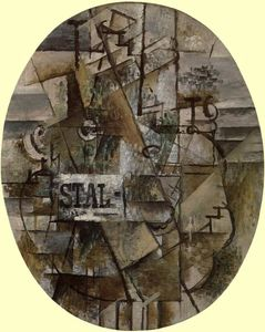 Georges Braque - Pedestal Table: Stal
