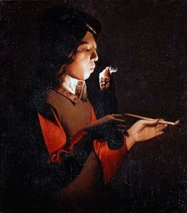 Georges De La Tour - Fumante