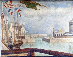 Georges Pierre Seurat - Domingo em Port-en-Bessin