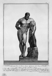 Giovanni Battista Piranesi - Farnese Hércules