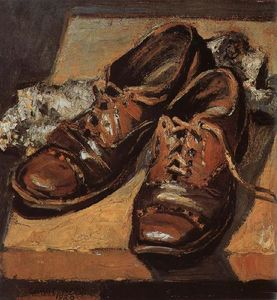 Grant Wood - antigo sapatos
