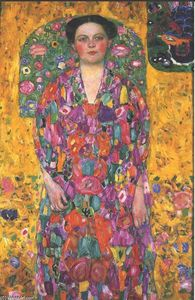 Gustav Klimt - Retrato do Eugenia Primavesi