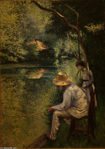 Gustave Caillebotte - Pesca