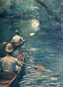Gustave Caillebotte - Canoas