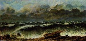 Gustave Courbet - as ondas