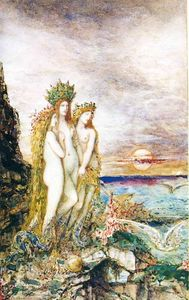 Gustave Moreau - Os Sirens
