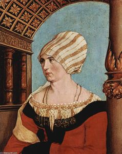 Hans Holbein The Younger - Dorothea Kannengiesser