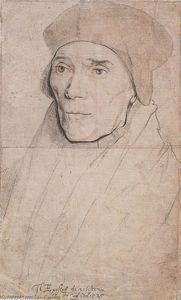 Hans Holbein The Younger - Retrato do Bishop John Fisher