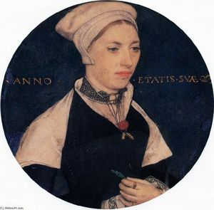 Hans Holbein The Younger - Sra Pemberton