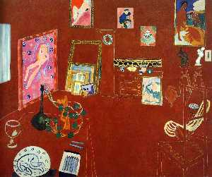 Henri Matisse - Red Estúdio