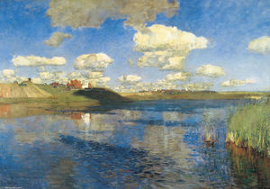 Isaak Ilyich Levitan - Lake. Rus.