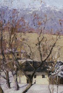 Isaak Ilyich Levitan - crimeia no inverno