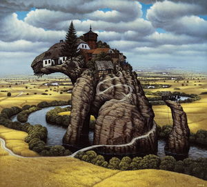 Jacek Yerka - Little Rock do cão