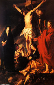 Jacob Jordaens - cristo num cruz