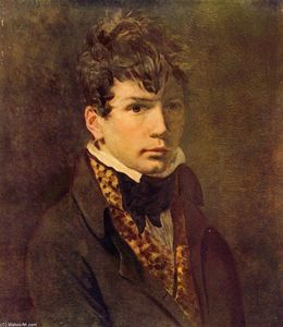 Jacques Louis David - Retrato do Jovem Ingres
