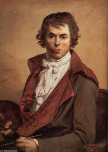 Jacques Louis David - autoretrato