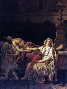 Jacques Louis David - A dor de Andromache