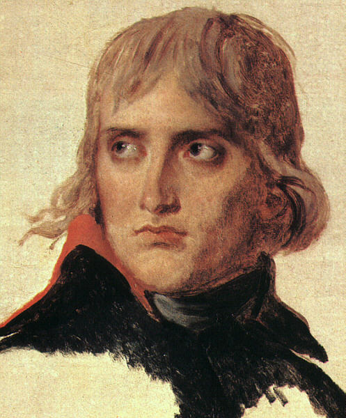 Bonaparte, 1798 por Jacques Louis David (1748-1800, France) | Reproduções De Belas Artes Jacques Louis David | WahooArt.com
