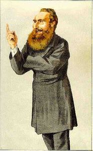 James Jacques Joseph Tissot - Caricatura de anthony João Mundella