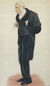 James Jacques Joseph Tissot - caricatura de william bathurst , 5th Conde Bathurst