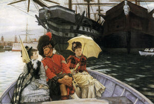 James Jacques Joseph Tissot - portsmouth dockyard