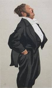 James Jacques Joseph Tissot - caricatura de mr lionel lawson