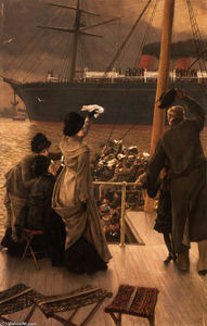 James Jacques Joseph Tissot - Adeus, no Mersey