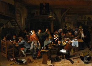 Jan Steen - Prince`s dia