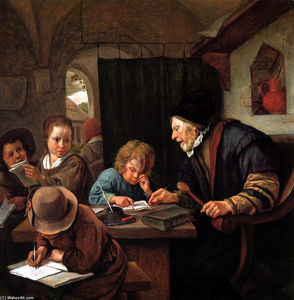 Jan Steen - Professor de escola