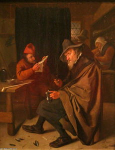 Jan Steen - Bebedor