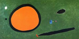 Joan Miro - Bird-s Vôo no luar