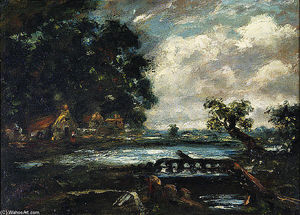John Constable - estudo para o cavalo do pulo ( ver no stour )
