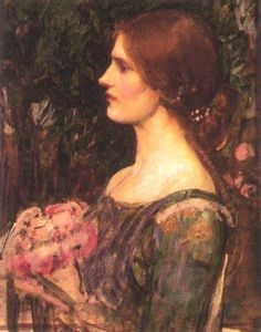 John William Waterhouse - o ramo de flores